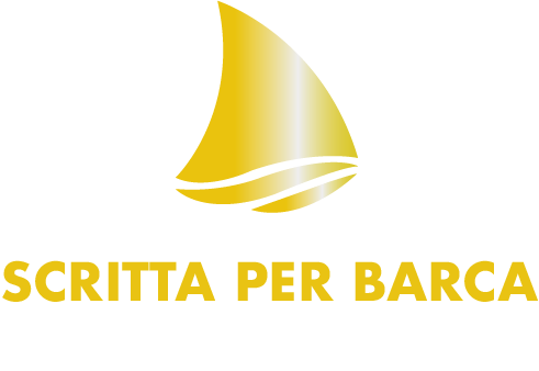 Logo scritta per barca in acciaio inox